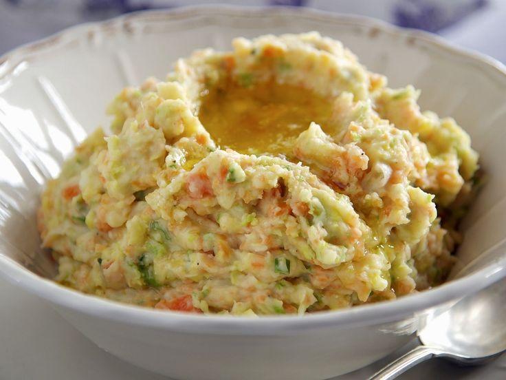 Kartoffelpüree mit Gemüse auf irische Art