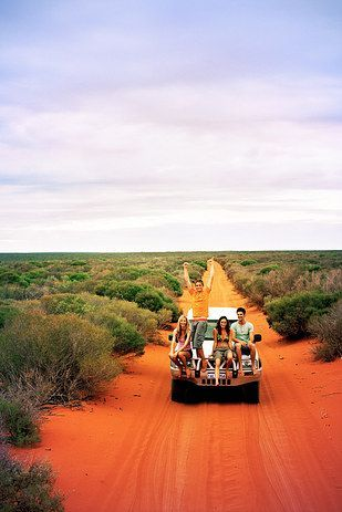 18 Jobs You Can Actually Do In Australia:lead a tour through the outback