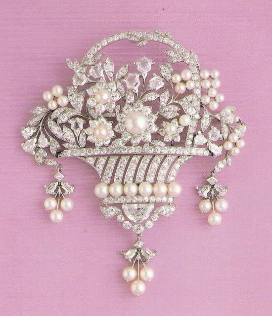 Cartier Brooch--great for a sash