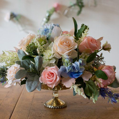 Make your own whimsical wedding centerpieces with this simple how-to video and silk wedding flowersfromAfloral.com. Choose your favorite high-quality silk fl
