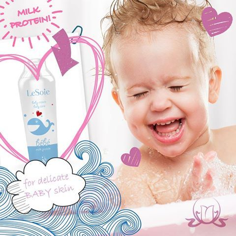 Pamper your baby's skin with love and care...   A safe formula developed to protect the delicate baby's skin from the very first days, contains milk proteins combined with calendula oil and other soothing ingredients.  #kids #children #skincare
