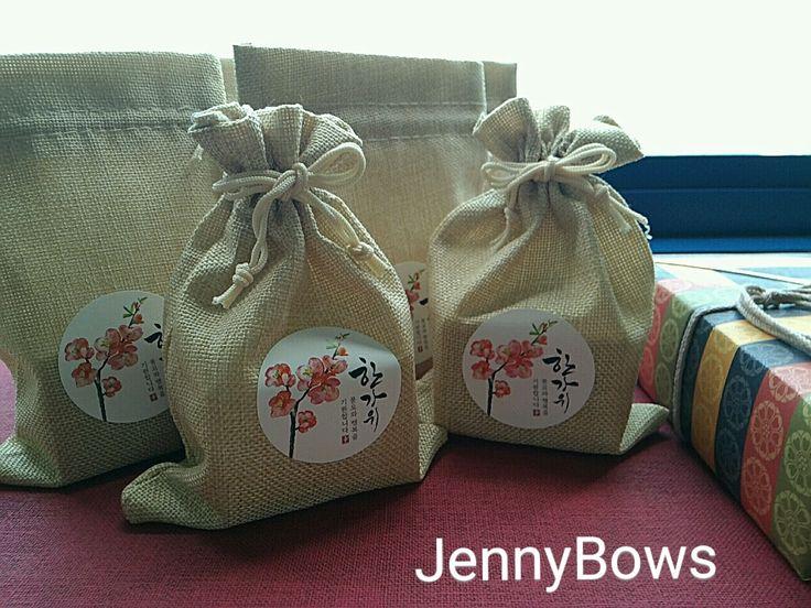 분당리본공예JennyBows /  스토리 채널 : bows80  한가위 수제비누 포장