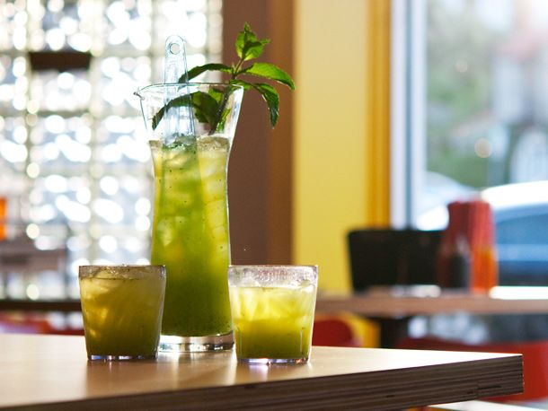 Green Manalishi: Austin Texas, Lucky Robot, Cilantro Punch, Manalishi ...
