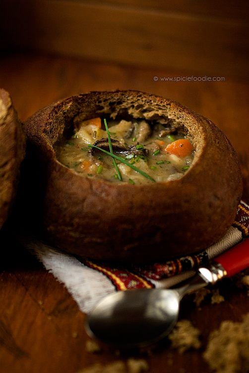 Czech Potato Soup