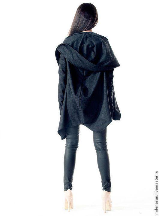 Шерстяное пальто на весну, дизайнерское пальто, верхняя осенняя одежда