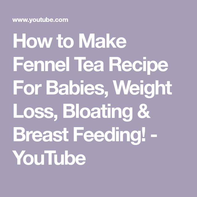 How to Make Fennel Tea Recipe For Babies, Weight Loss, Bloating & Breast Feeding! - YouTube