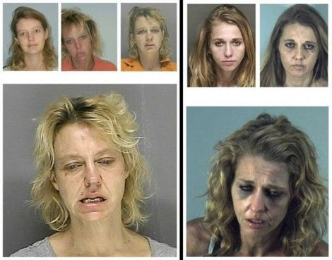 Faces of Meth... wow... if this is the result, why would you put yourself through it?