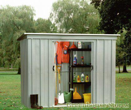 yardmaster 64pz 6x4 metal shed