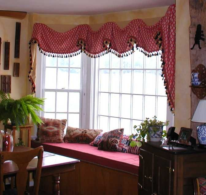 1000 ideas about kitchen bay windows on pinterest no - Kitchen bay window treatments ...