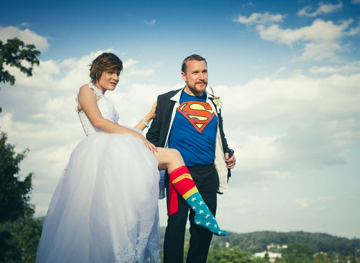 Wonder woman and superman married-7868