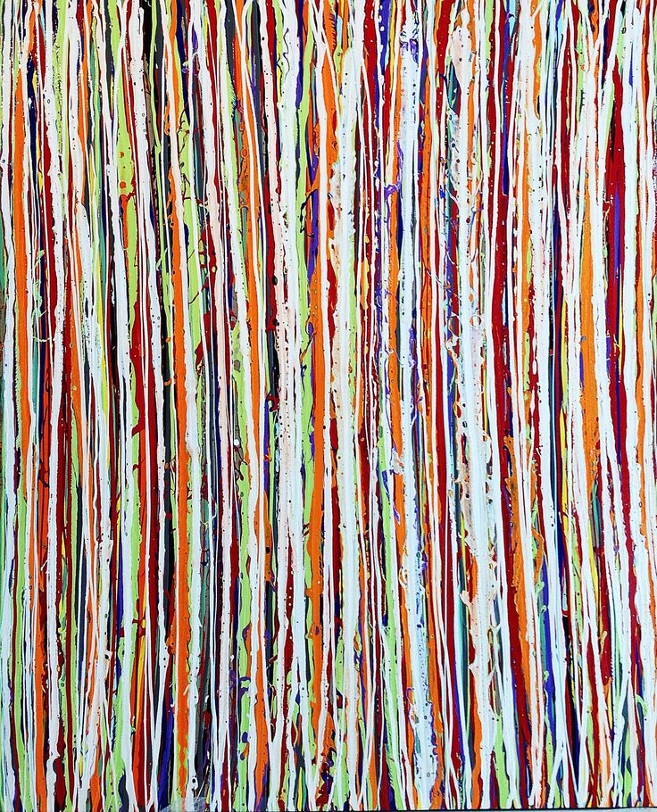 """""""The Tracks Of My Tears"""" by Thierry B.  Synthetic Polymer Paint On Linen 183 x 152 cm now in a private collection in Melbourne Australia"""