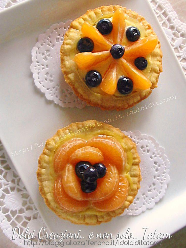 Crostatine alla frutta e crema pasticciera   ricetta completa