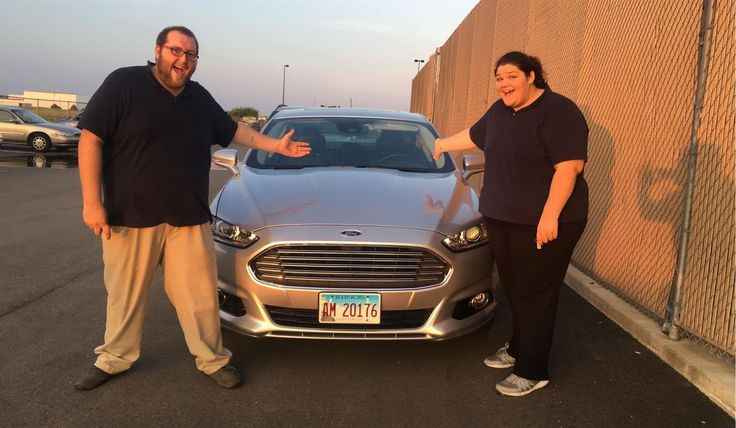 Brandon and Annamarie, we hope you enjoy your new 2013 FORD FUSION.  Congratulations and best wishes from Landmark Ford and ZACHARY LOWMAN.