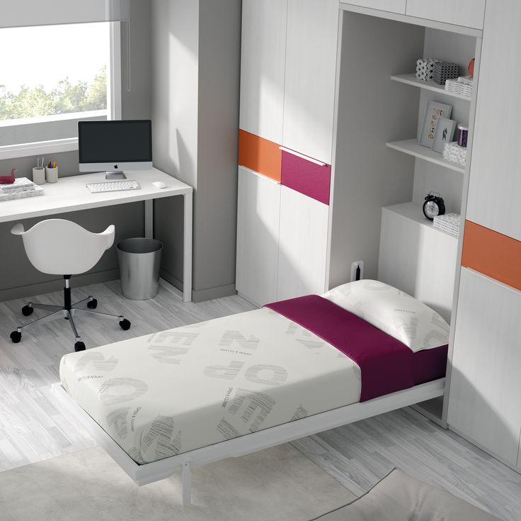 45 best images about camas abatibles on pinterest spare - Sofa cama desplegable ...