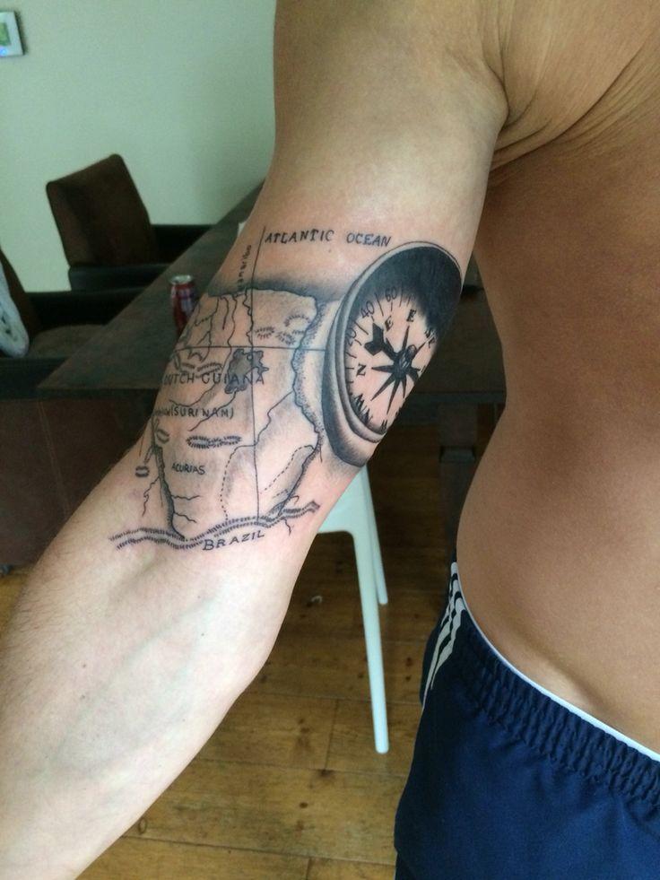 My tattoo of Surinam