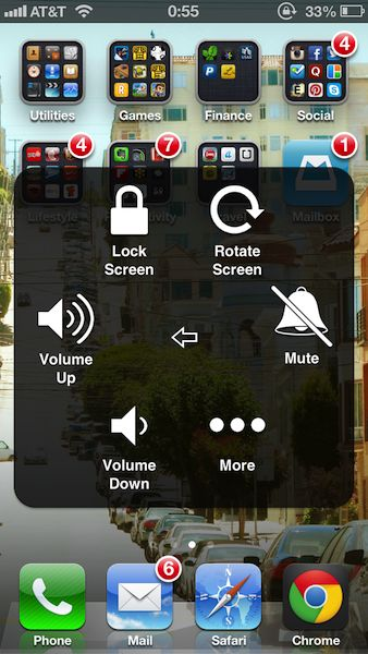 12 tricks you didn't know your iphone could do. my favorite: When you want to type a number, it is inconvenient to switch to numbers, type one number and then switch back to normal keyboard. If you press and hold the number key and then slide to the number and lift your finger off, it will type the number and automatically switch back to previous keyboard.