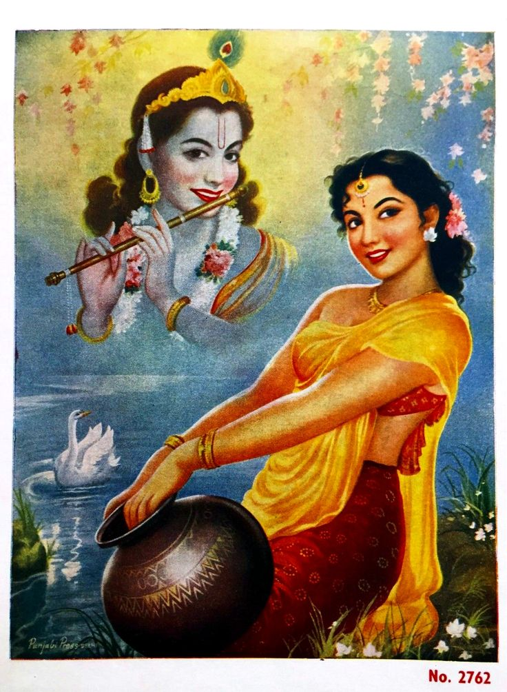 It is said the only two things were beloved to Krishna more than anything, and these things were soulfully connected to each other- his flute and his Radha.