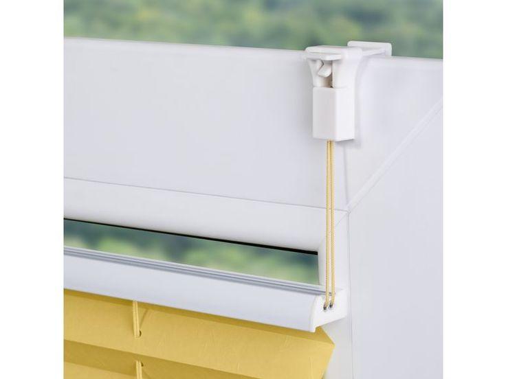 Wohn guide plissee klemmfix ohne bohren verspannt gelb for Plissee lidl