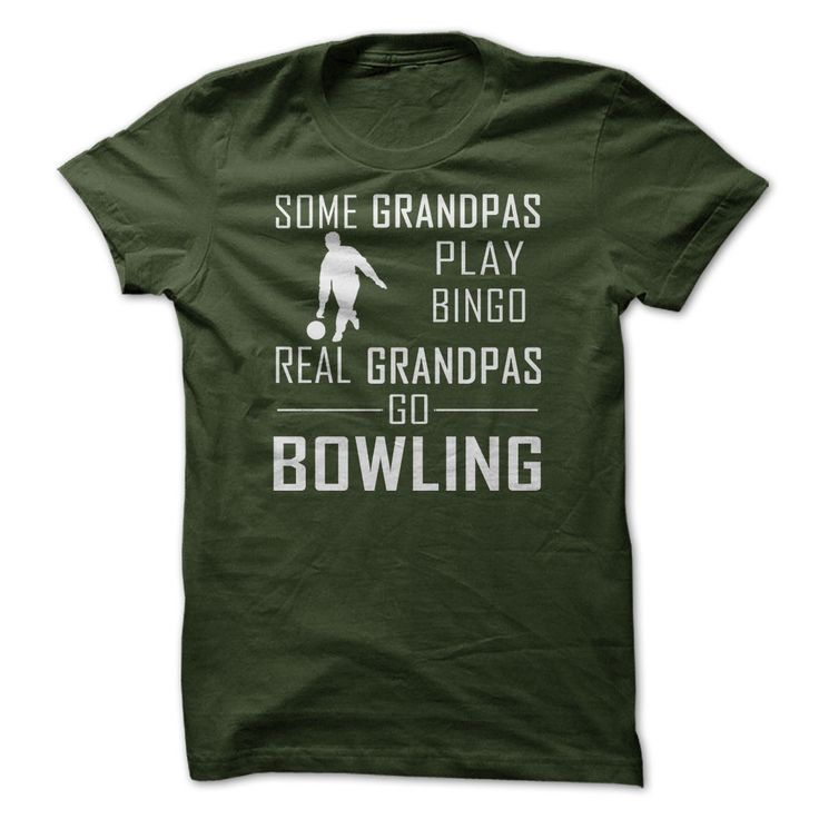 Funny bowling t-shirts in several styles and colors. Great gift for the bowler.