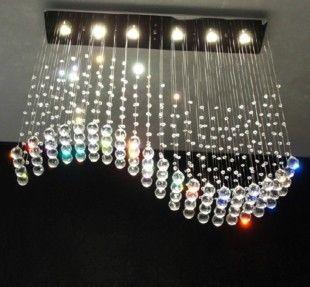 Потолочный светильник кристалл лампы бар лампы популярный современный кристалл лампы гостиной огни