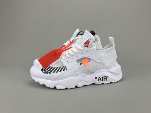 ac4a384b18e926 Most Popular Off White x Nike Air Huarache Ultra ID AA3841-100 White ...