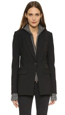 Veronica Beard Classic Jacket with Hoodie Dickey | SHOPBOP