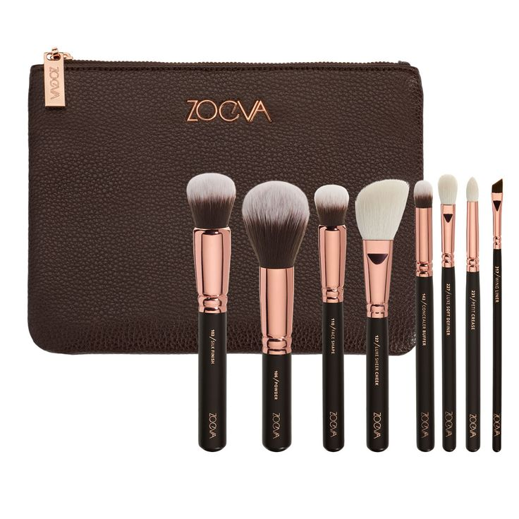 ONLINE ONLY -- Zoeva Rose Golden Brush Set