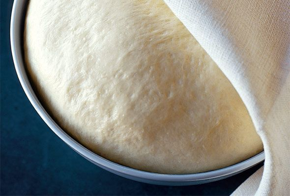 Recipe - Semolina Pizza Dough - With all those pizzas we'll be making, we'll knead (umm need) lots of dough. Good for garlic knots too!