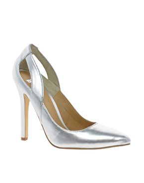 Image 1 ofASOS POPULATE Pointed High Heels