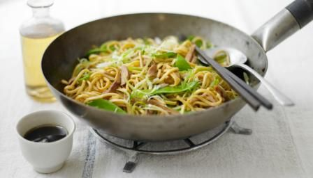 Wok-master Ken Hom delivers another sensational stir-fry with spring onions…