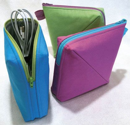 Love This : Bendy Bag sewing pattern from Lazy Girl Designs