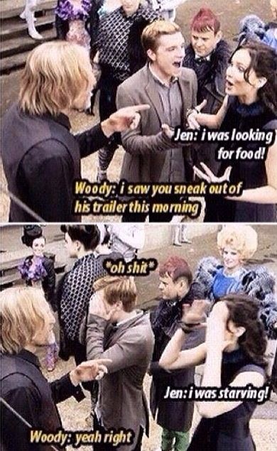 It looks like Woody ships joshifer too!!! This makes me all happy inside! He ships them too!!!!