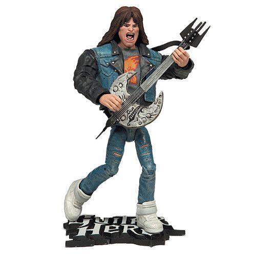 "Guitar Hero 6"" Figure Axel Steel Gray Shirt"