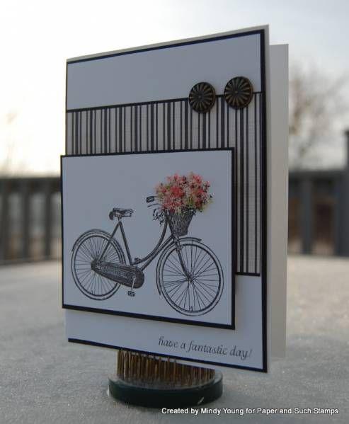 bike w/basket of flowers