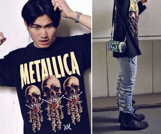 Givenchy Watch, 2nd Hand Metallica Shirt, 2nd Hand Car Plate Design Bag