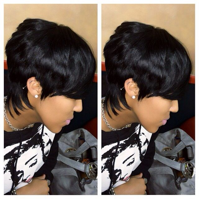 Stupendous 1000 Ideas About Short Quick Weave Hairstyles On Pinterest Short Hairstyles Gunalazisus