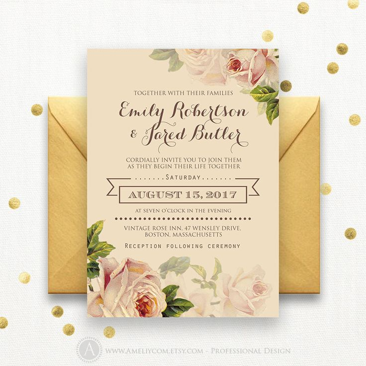 37 best Wedding Invitation & How to s images on Pinterest