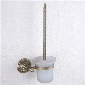 WC Bürstengarnitur, Messing, venezianischen Bronze