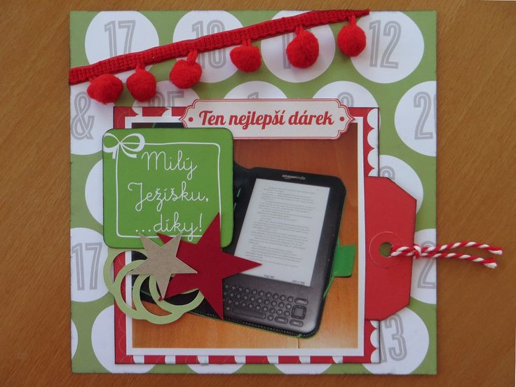 My best Christmas gift from 2010 - Kindle (6x6 page)