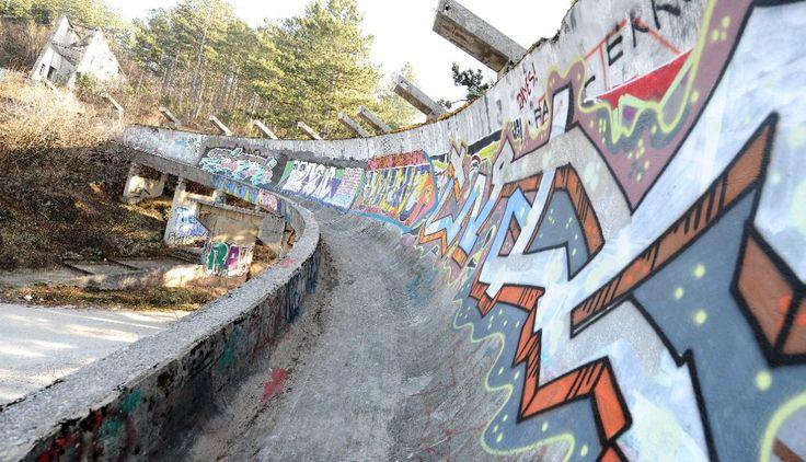 Sarajevo, pista da bob: cosa resta dopo i Giochi: i complessi olimpici dimenticati