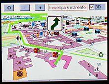 El GPS es uno de los inventos relacionados con la Teoría de la Relatividad. Un hallazgo vital para el transporte de barcos y aviones. Los instrumentos de  los satélites que se utilizan en los GPS ajustan sus cálculos a las fórmulas de la teoría de la relatividad. Este pin es un navegador con un software libre de navegación (Gosmore) usando mapas libres de OpenStreetMap. Disponible en: https://es.wikipedia.org/wiki/Sistema_de_posicionamiento_global