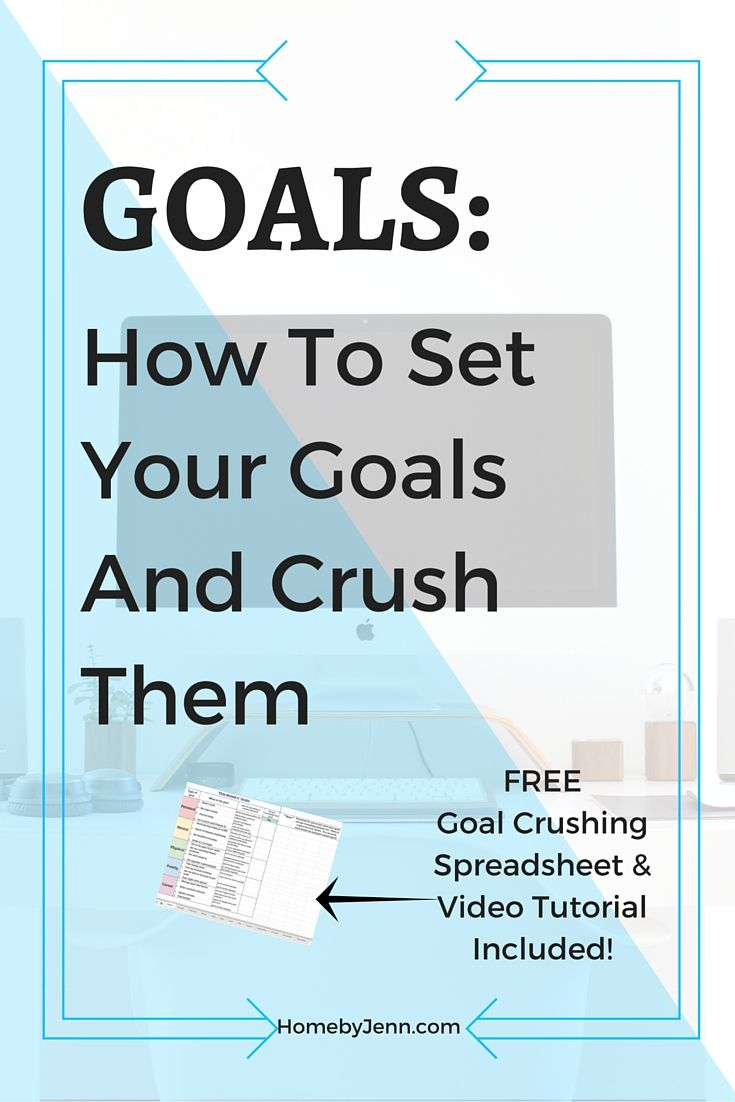 This post has step by step instruction on how to set up some amazing goals…