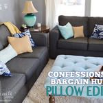 Confessions of a Bargain Hunter: Pillow Edition