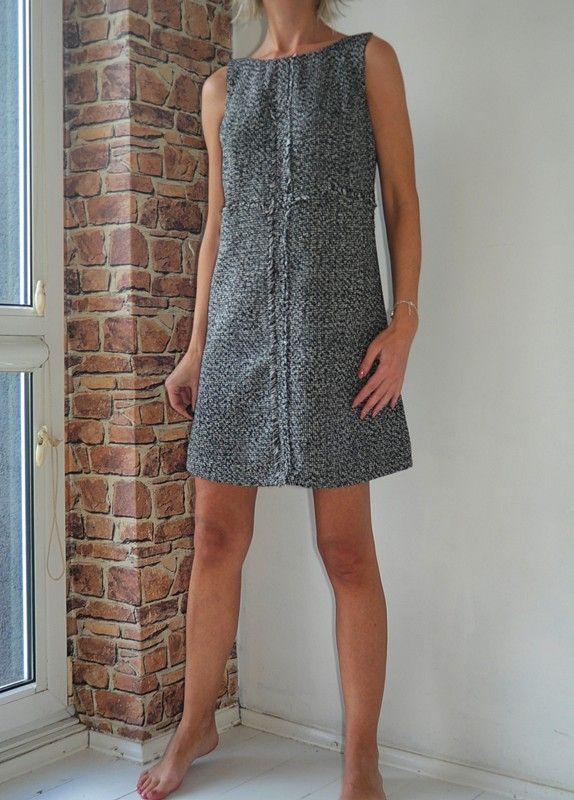 5670c4a787 SALE Next sukienka trapezowa biało czarna 38 - vinted.pl