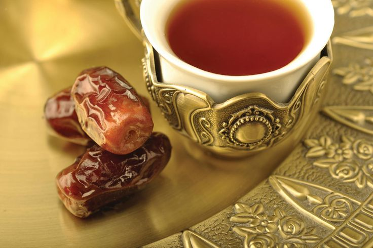 Dates are another well-known symbol of Ramadan as, a traditionally, a date is eaten to break the fast. At The Ritz-Carlton, Riyadh, dates are served alongside a variety of juices and teas.