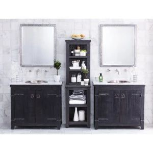 Industrial Double Sink Vanities on Hayneedle - Industrial Double Sink Vanities For Sale