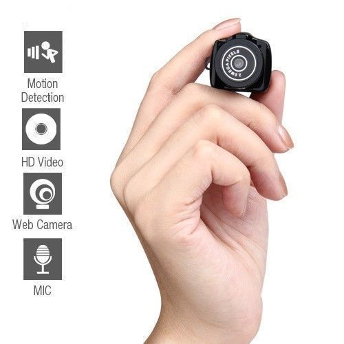 World's Smallest 720P Camcorder Spy Cam Webcam Video Recorder mini DVR Y2000 H5 #OUKU
