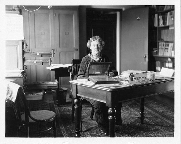 Annie Jump Cannon at her desk at the Harvard Observatory. She devised a system that, in 1922, the International Astronomical Union adopted as the official classification system for stars. In 1938, two years before Cannon retired and three years before she died, Harvard finally acknowledged her by appointing her the William C. Bond Astronomer. And her enduring achievement was dubbed the Harvard—not the Cannon—system of spectral classification.