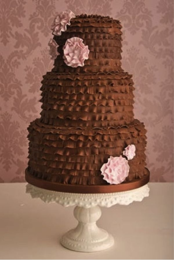 Bolos de casamento de chocolate                                                                                                                                                                                 Mais