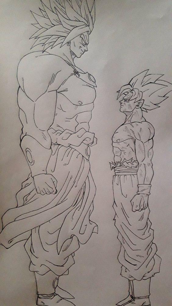 como desenhar goku xeno super dragon ball heroes goku dragon ball dragon ball heroes drago ball super desenha como desenhar anime e manga